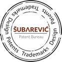 Subarevic IP Office - stamp
